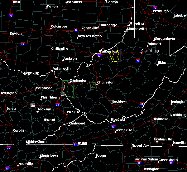 Radar Image for Severe Thunderstorms near Cairo, WV at 7/1/2018 9:22 PM EDT