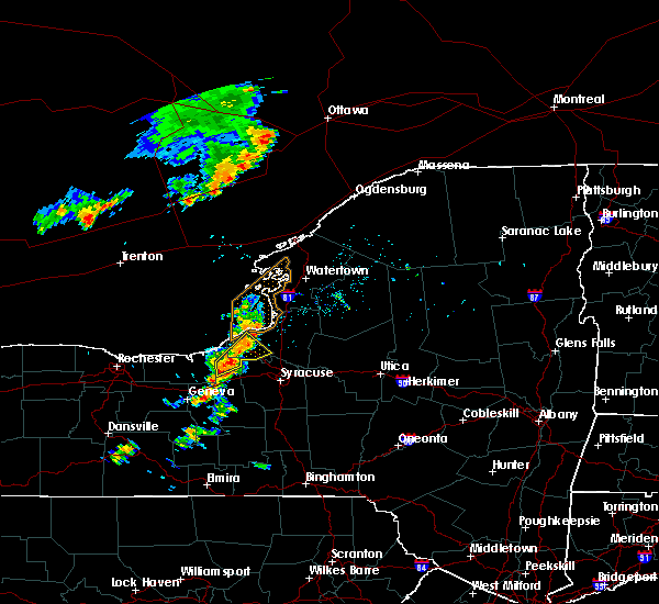Radar Image for Severe Thunderstorms near Meridian, NY at 7/2/2018 2:42 PM EDT