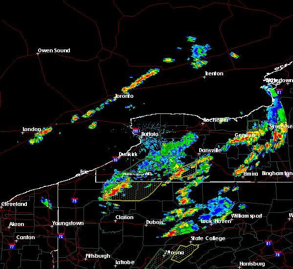 Radar Image for Severe Thunderstorms near Scio, NY at 7/2/2018 4:17 PM EDT