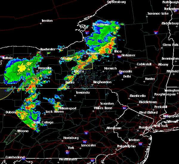 Radar Image for Severe Thunderstorms near Cortland West, NY at 7/2/2018 4:53 PM EDT