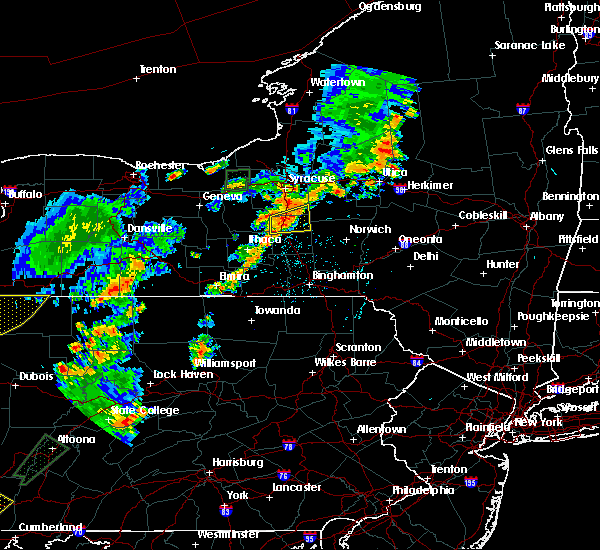 Radar Image for Severe Thunderstorms near Cortland West, NY at 7/2/2018 5:12 PM EDT