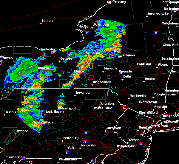 Radar Image for Severe Thunderstorms near Cortland West, NY at 7/2/2018 5:18 PM EDT