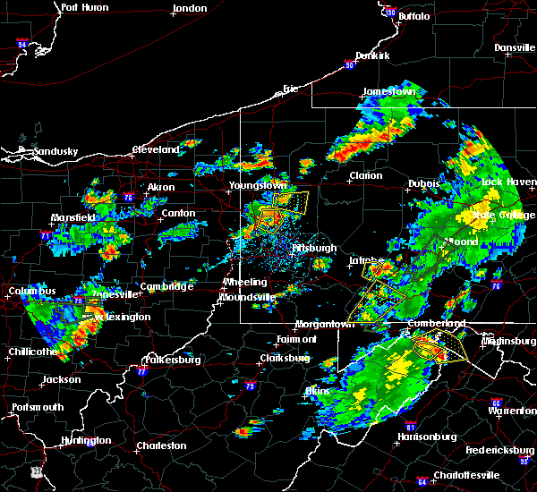 Radar Image for Severe Thunderstorms near Freedom, PA at 7/2/2018 5:36 PM EDT
