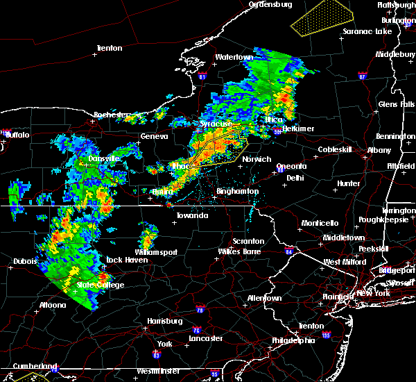 Radar Image for Severe Thunderstorms near Cortland West, NY at 7/2/2018 5:39 PM EDT