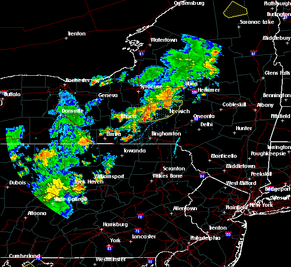 Radar Image for Severe Thunderstorms near Norwich, NY at 7/2/2018 6:04 PM EDT