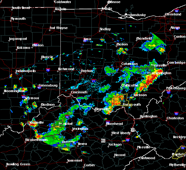 Radar Image for Severe Thunderstorms near Otway, OH at 7/2/2018 6:04 PM EDT