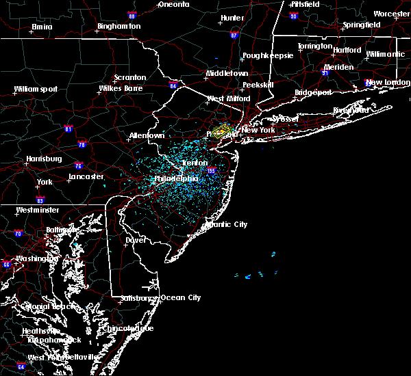 Radar Image for Severe Thunderstorms near Roselle Park, NJ at 7/3/2018 1:24 PM EDT