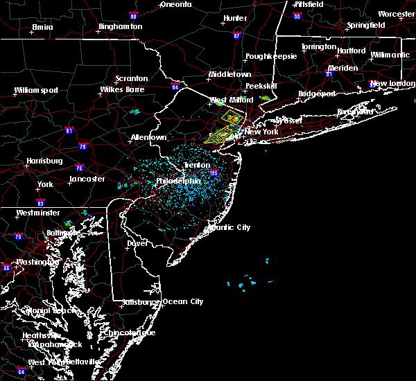 Radar Image for Severe Thunderstorms near Roselle Park, NJ at 7/3/2018 1:58 PM EDT