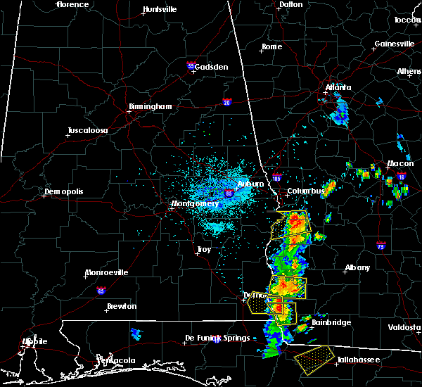 Radar Image for Severe Thunderstorms near Eufaula, AL at 7/3/2018 9:47 PM EDT