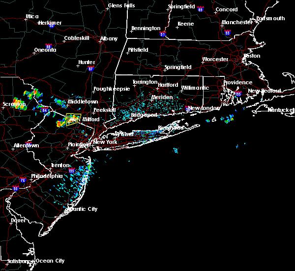 Radar Image for Severe Thunderstorms near Ringwood, NJ at 7/4/2018 12:57 PM EDT