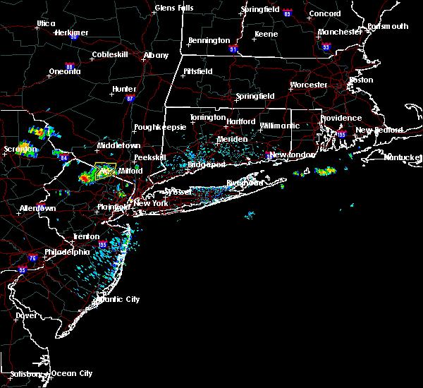 Radar Image for Severe Thunderstorms near Ringwood, NJ at 7/4/2018 1:21 PM EDT