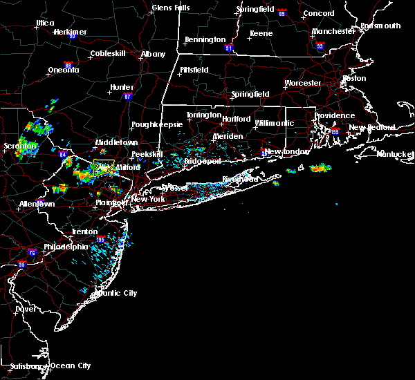 Radar Image for Severe Thunderstorms near Ringwood, NJ at 7/4/2018 1:42 PM EDT
