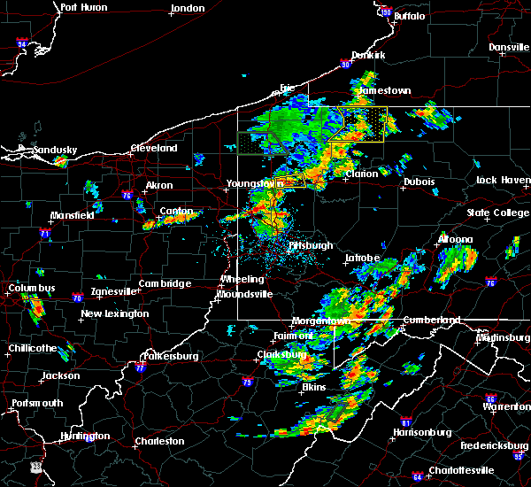 Radar Image for Severe Thunderstorms near West Pittsburg, PA at 7/5/2018 2:03 PM EDT
