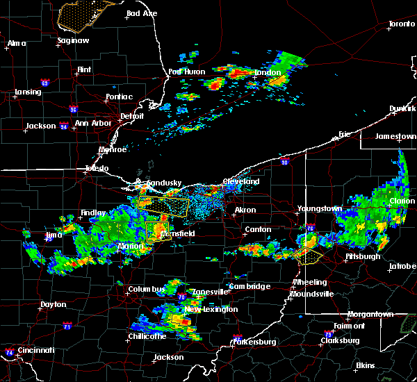 Radar Image for Severe Thunderstorms near Oberlin, OH at 7/5/2018 3:39 PM EDT