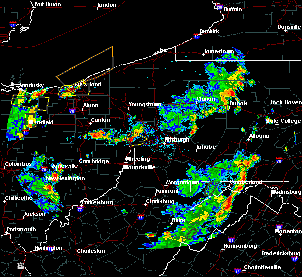 Radar Image for Severe Thunderstorms near Paris, PA at 7/5/2018 3:55 PM EDT