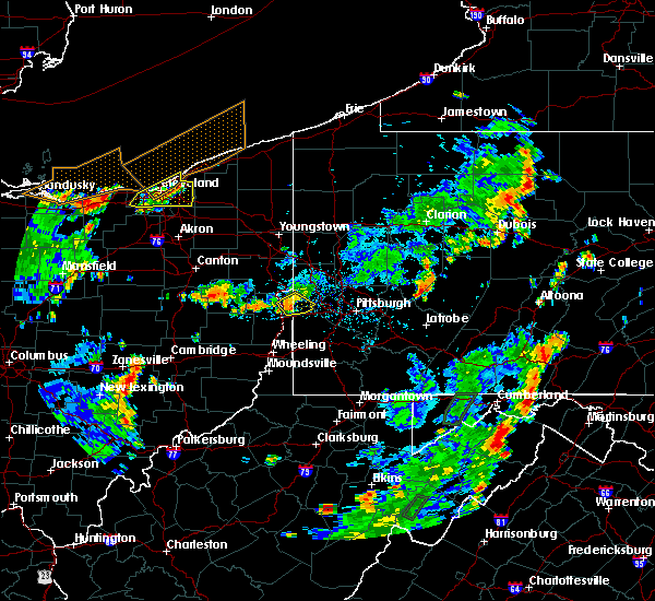 Radar Image for Severe Thunderstorms near Paris, PA at 7/5/2018 4:10 PM EDT