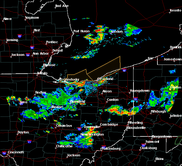 Radar Image for Severe Thunderstorms near Highland Heights, OH at 7/5/2018 4:20 PM EDT