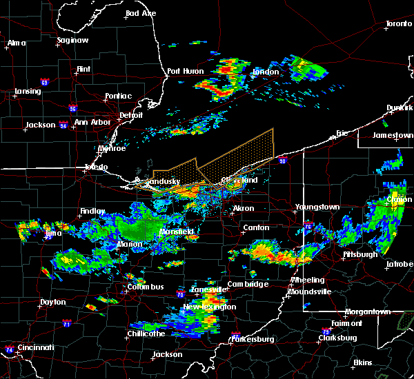 Radar Image for Severe Thunderstorms near Highland Heights, OH at 7/5/2018 4:29 PM EDT