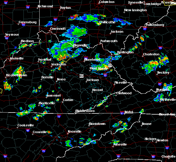 Radar Image for Severe Thunderstorms near Carlisle, KY at 7/5/2018 6:04 PM EDT