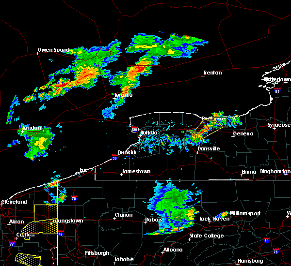 Radar Image for Severe Thunderstorms near Fairport, NY at 7/5/2018 6:25 PM EDT