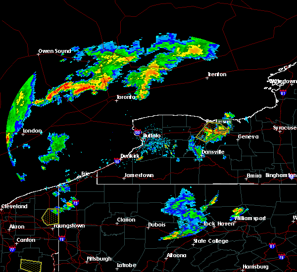 Radar Image for Severe Thunderstorms near Fairport, NY at 7/5/2018 7:00 PM EDT