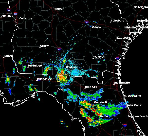 Radar Image for Severe Thunderstorms near Madison, FL at 7/6/2018 5:54 PM EDT