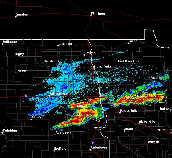 Interactive Hail Maps - Hail Map for Frazee, MN