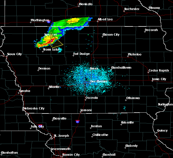 Radar Image for Severe Thunderstorms near Ayrshire, IA at 7/10/2018 11:35 AM CDT