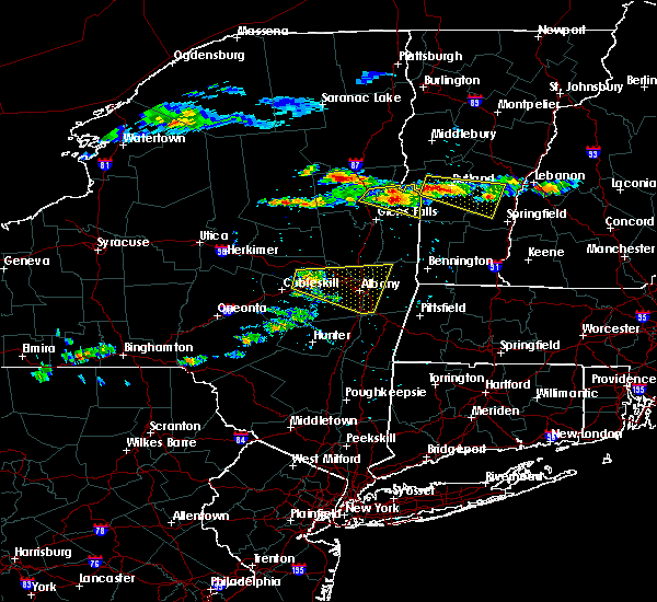 Radar Image for Severe Thunderstorms near Rotterdam, NY at 7/10/2018 4:13 PM EDT