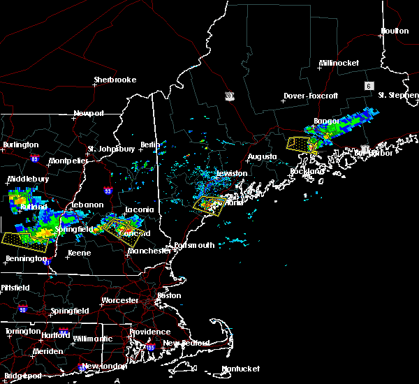 Radar Image for Severe Thunderstorms near Falmouth Foreside, ME at 7/10/2018 5:38 PM EDT