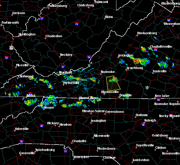 Radar Image for Severe Thunderstorms near Arrington, VA at 7/11/2018 3:52 PM EDT