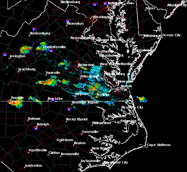 Radar Image for Severe Thunderstorms near Camptown, VA at 7/11/2018 6:27 PM EDT