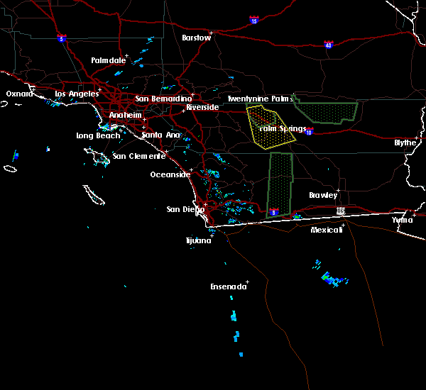 Interactive Hail Maps - Hail Map for Indio, CA