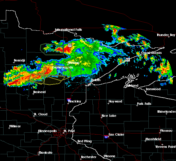 Radar Image for Severe Thunderstorms near Palisade, MN at 7/12/2018 12:58 AM CDT
