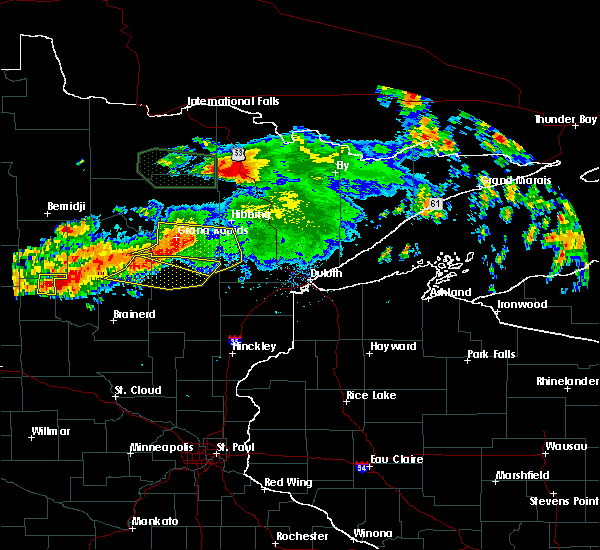 Radar Image for Severe Thunderstorms near Palisade, MN at 7/12/2018 1:16 AM CDT