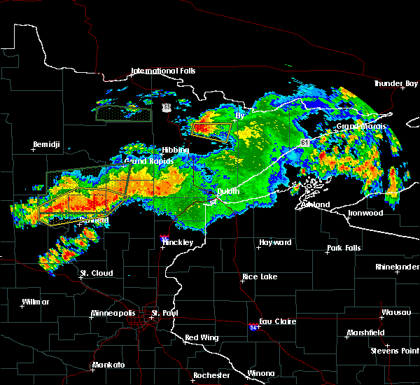 Radar Image for Severe Thunderstorms near Deerwood, MN at 7/12/2018 2:28 AM CDT