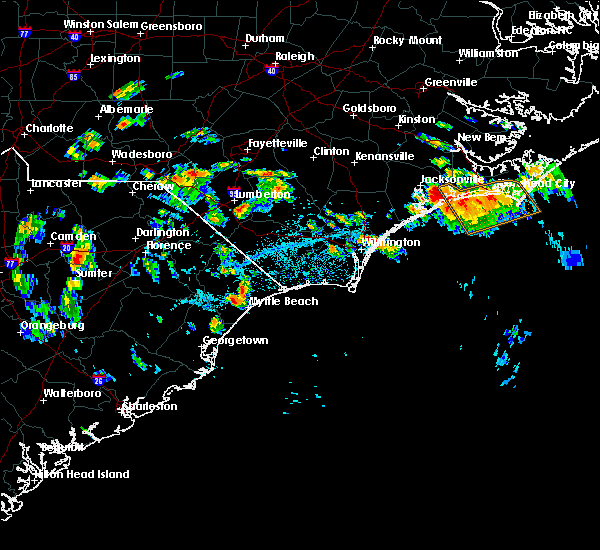 Radar Image for Severe Thunderstorms near Myrtle Beach, SC at 7/12/2018 3:44 PM EDT