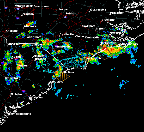 Radar Image for Severe Thunderstorms near Wrightsboro, NC at 7/12/2018 3:59 PM EDT