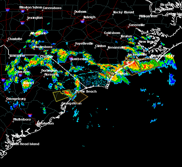 Radar Image for Severe Thunderstorms near Wrightsboro, NC at 7/12/2018 4:27 PM EDT