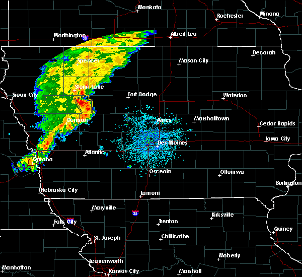 Radar Image for Severe Thunderstorms near Early, IA at 7/13/2018 12:27 PM CDT