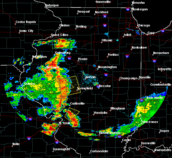 Radar Image for Severe Thunderstorms near Rochester, IL at 7/14/2018 5:02 PM CDT
