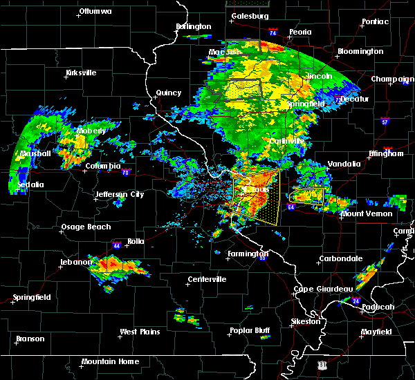 Radar Image for Severe Thunderstorms near Venice, IL at 7/14/2018 6:06 PM CDT
