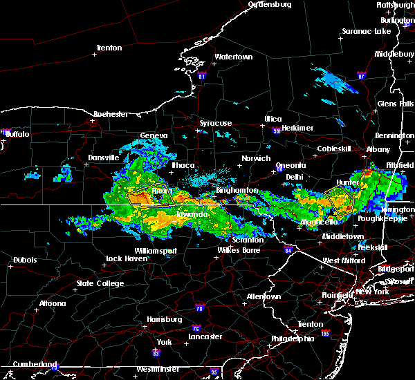 Radar Image for Severe Thunderstorms near West Elmira, NY at 7/14/2018 7:56 PM EDT