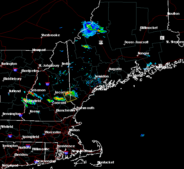Radar Image for Severe Thunderstorms near Milton, NH at 7/15/2018 2:24 PM EDT