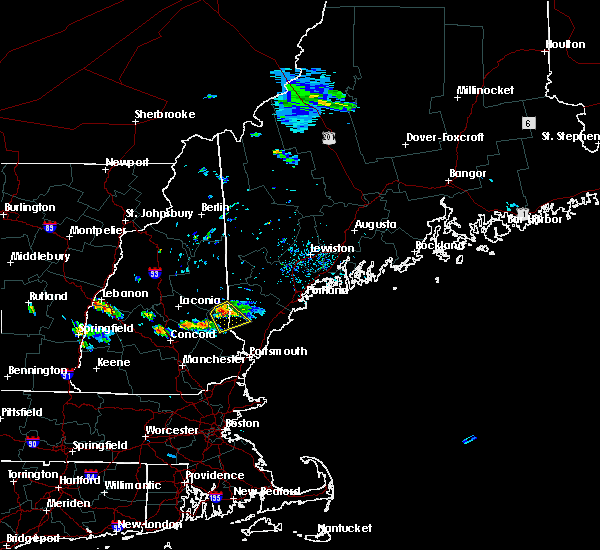Radar Image for Severe Thunderstorms near Milton, NH at 7/15/2018 2:36 PM EDT