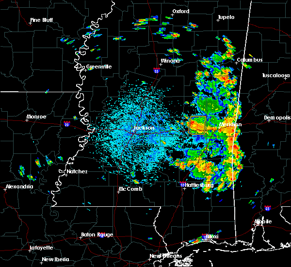Radar Image for Severe Thunderstorms near Newton, MS at 7/15/2018 2:04 PM CDT