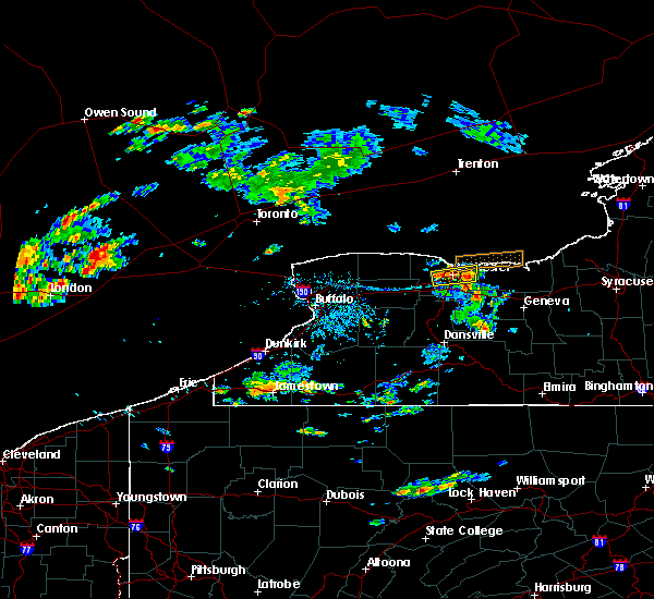 Radar Image for Severe Thunderstorms near Fairport, NY at 7/16/2018 4:52 PM EDT