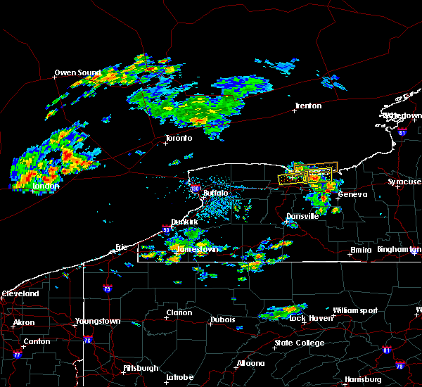 Radar Image for Severe Thunderstorms near Fairport, NY at 7/16/2018 5:14 PM EDT