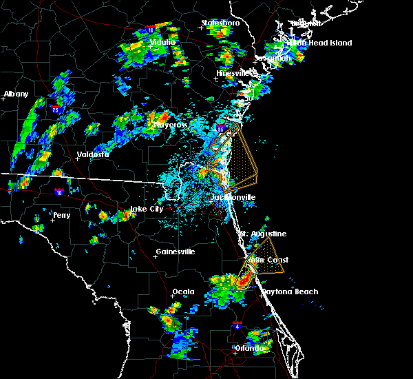 Radar Image for Severe Thunderstorms near Bunnell, FL at 7/16/2018 5:42 PM EDT