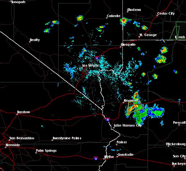Radar Image for Severe Thunderstorms near Pine Lake, AZ at 7/16/2018 2:45 PM MST